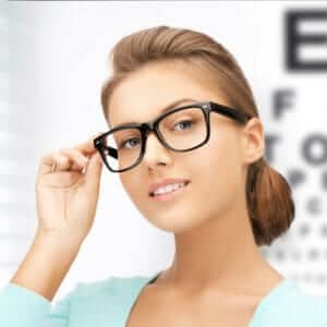 Picture of an Optometrist Customer